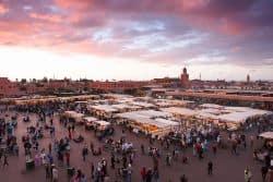 Medina in Marrakesch