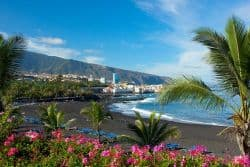 Playa Jardin auf Teneriffa