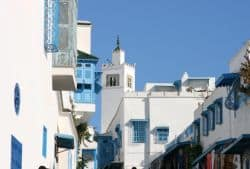 Häuser in Tunis