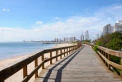 Küste von Uruguay