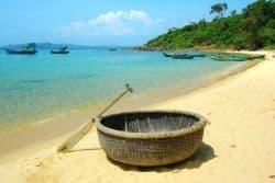 Schöner Strand in Vietnam
