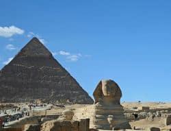 Pyramide im Ägypten Urlaub