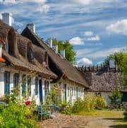 Typisches Haus in Dänemark