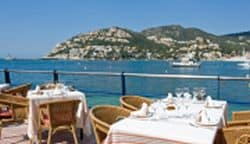 Restaurant mit tollem Ausblick