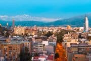 Blick über Santiago de Chile