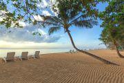 Einsamer Strand auf Bali