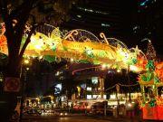 Einkaufsmeile in Singapur