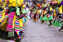 Tanzeinlage bei einer Parade