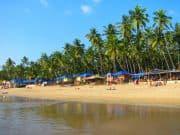 Schöner Strand in Goa