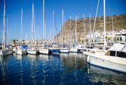 Boote im Hafen von Gran Canaria