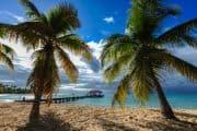 Wunderschöner Strand auf Martinique