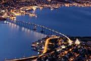 Tromso bei Nacht