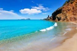 Kleine Bucht auf Ibiza