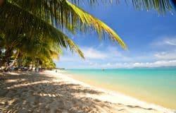 Wunderschöner Strand auf Koh Samui