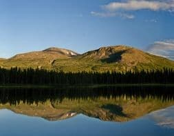 Wunderschöne Naturlandschaft in Kanada