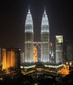 Hochhäuser in Malaysia