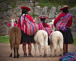 Einwohner von Peru