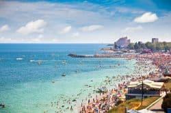 Strand am Schwarten Meer
