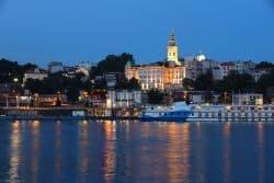 Belgrad am Abend