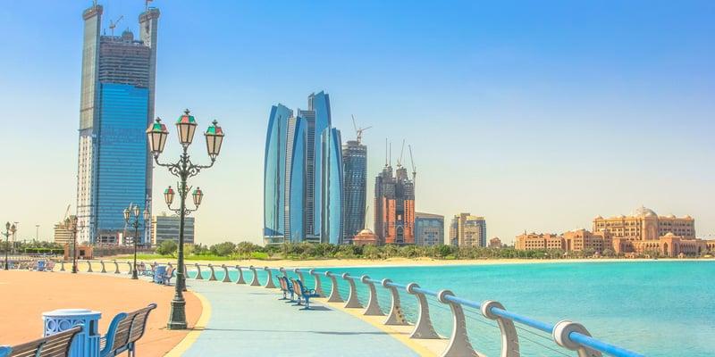 Abu Dhabi im Februar