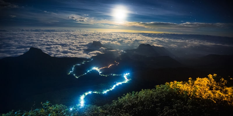 Sri Pada oder Adams Peak