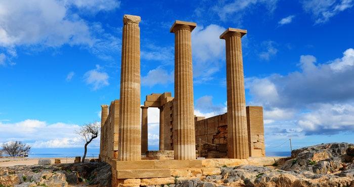 Akropolis auf Rhodos