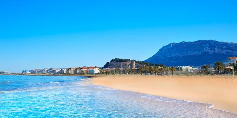 Alicante im August
