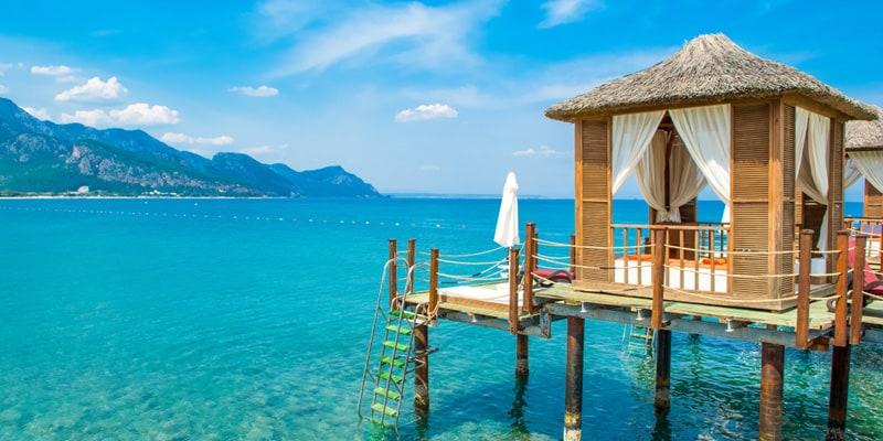 Antalya im August