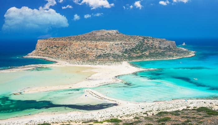 Balos Strand auf Kreta