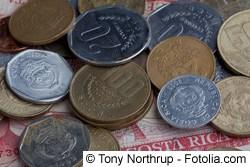 Colon - Währung in Costa Rica