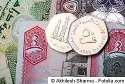Dirham - Geld in Dubai
