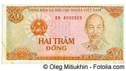 Dong - Währung in Vietnam