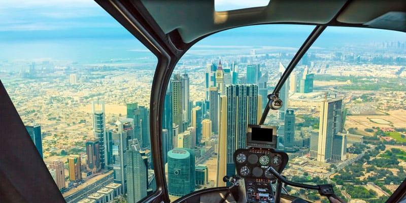 Helicopter Rundflug in Dubai