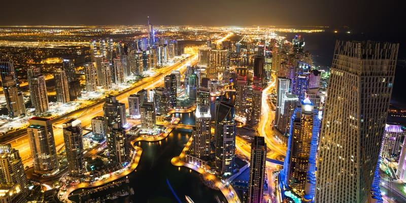 Nachtleben in Dubai