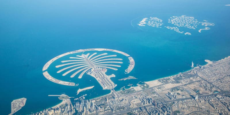 The Palm in Dubai
