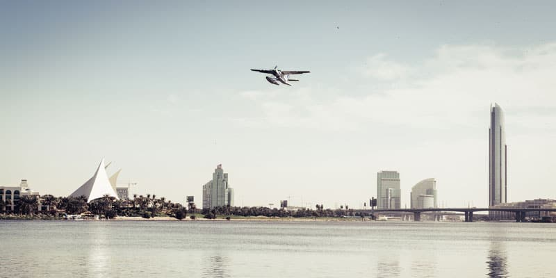 Wasserflugzeug Tour in Dubai