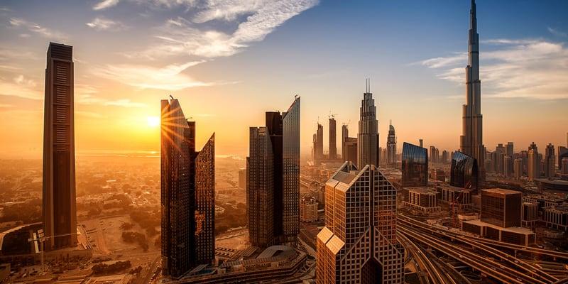 Dubai im Winter