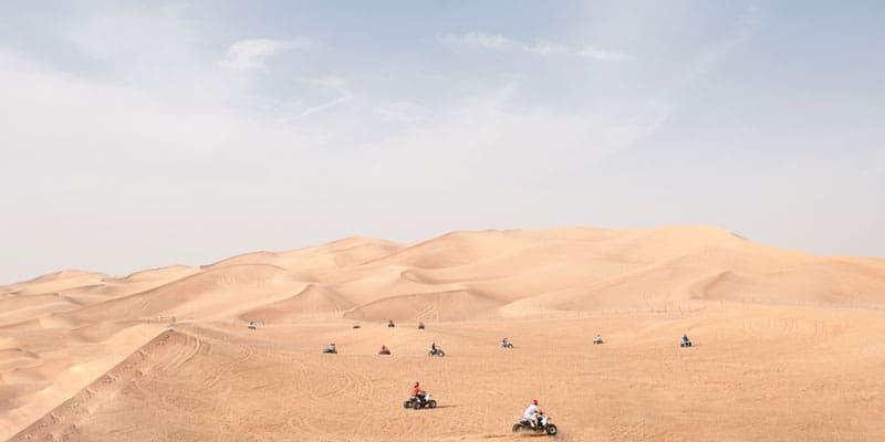 Dünen Quad Tour in Dubai