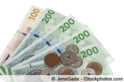 Euro in Dänische Kronen tauschen