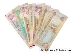 Euro in Dirham wechseln