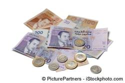Euro in Dirham tauschen