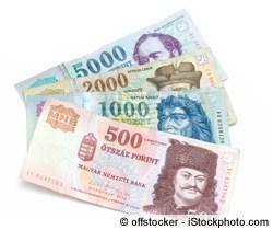 Euro in Forint tauschen