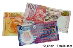 Euro in Hongkong Dollar wechseln