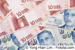 Euro in Singapur Dollar wechseln