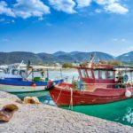 Fischerboote auf Kreta