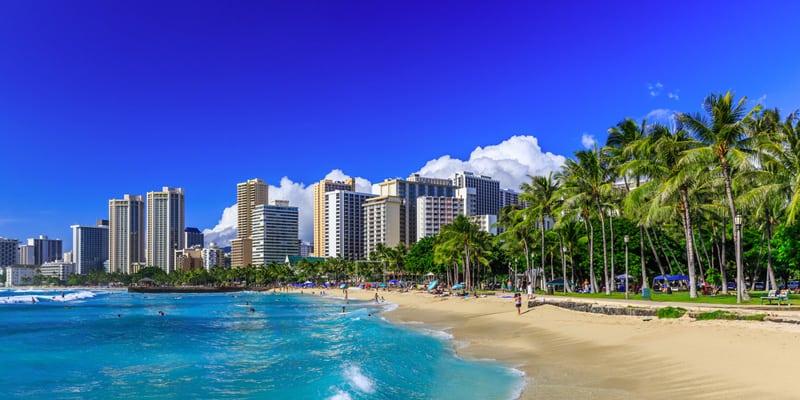 Honolulu im November