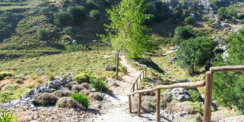 Imbros Schlucht auf Kreta