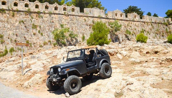 Jeeptour auf Kreta