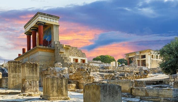 Knossos Palast auf Kreta