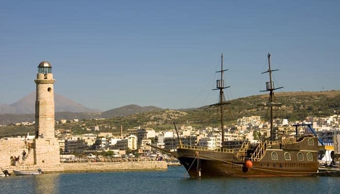 Piratenschiffausflug auf Kreta